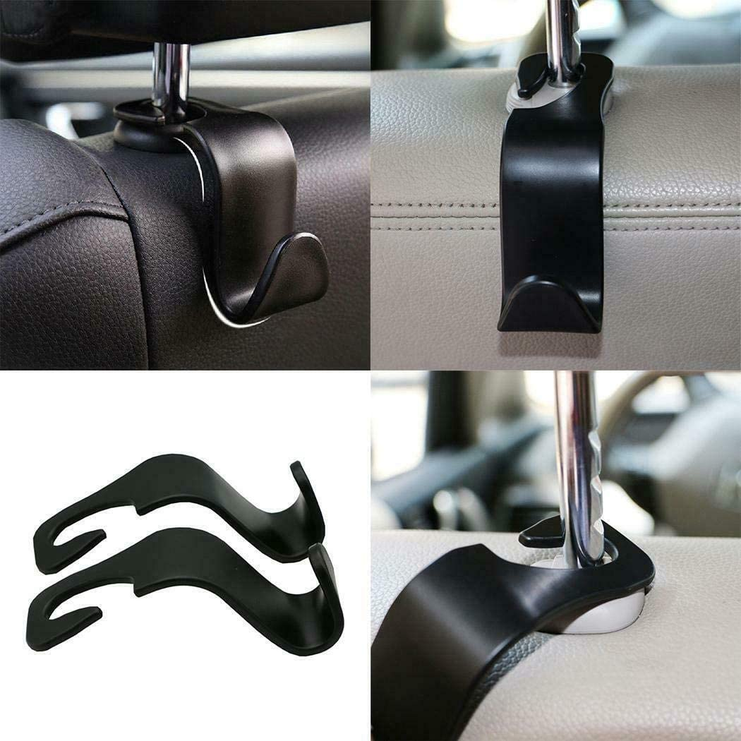 Multi-Function Seat Back Hook for Automobile Hook