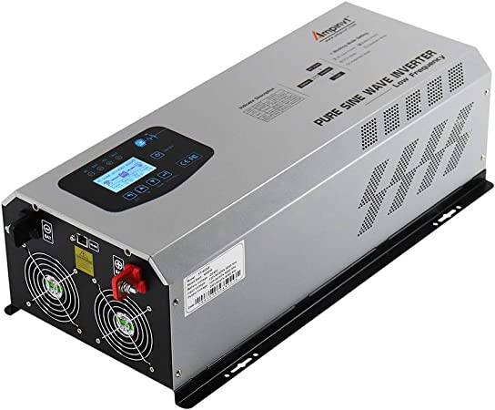 Amazon.com: Ampinvt 6000W pico 18000W Pure Sine Wave Power ...
