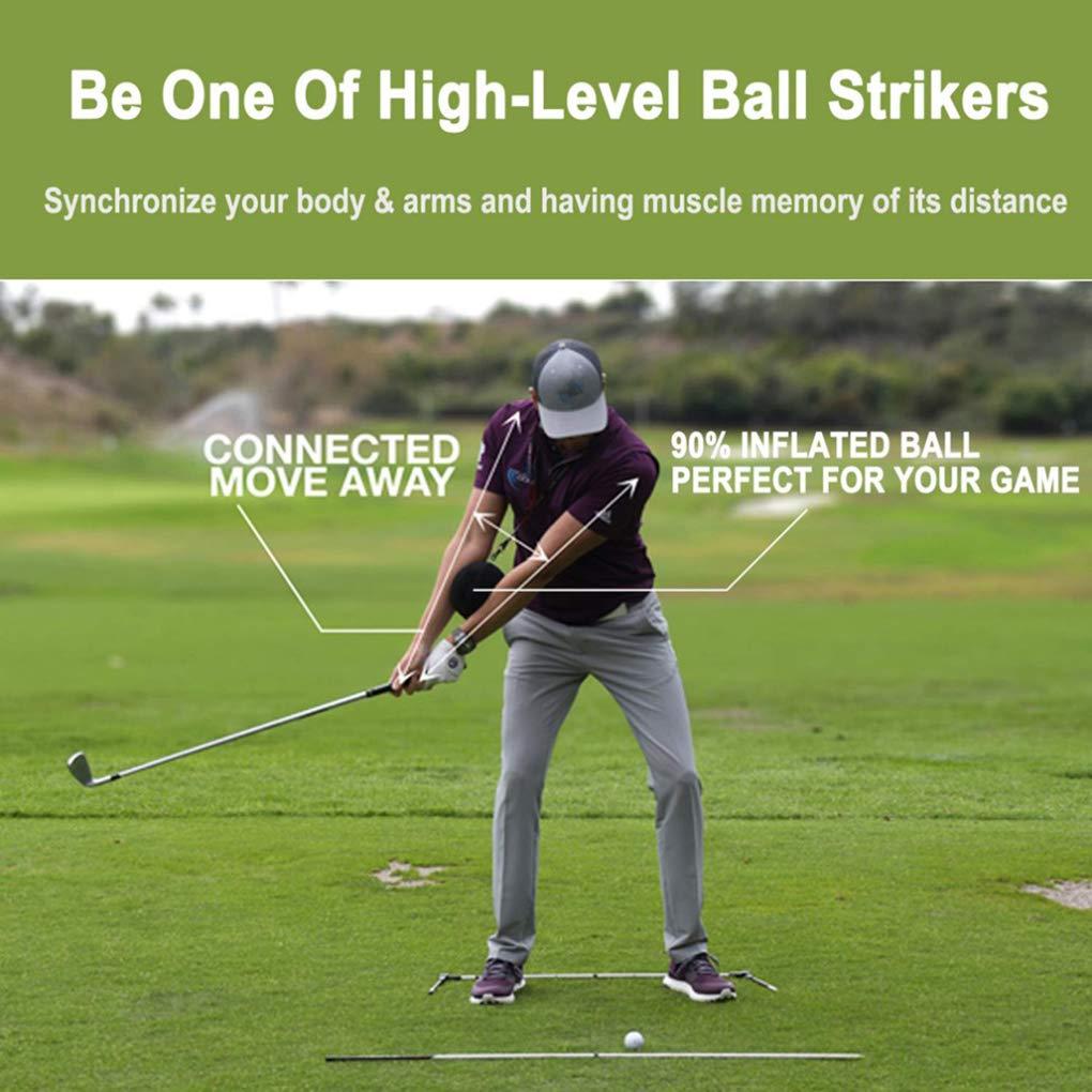 Babysbreath17 Swing de Golf Entrenador Bola Inflable ...