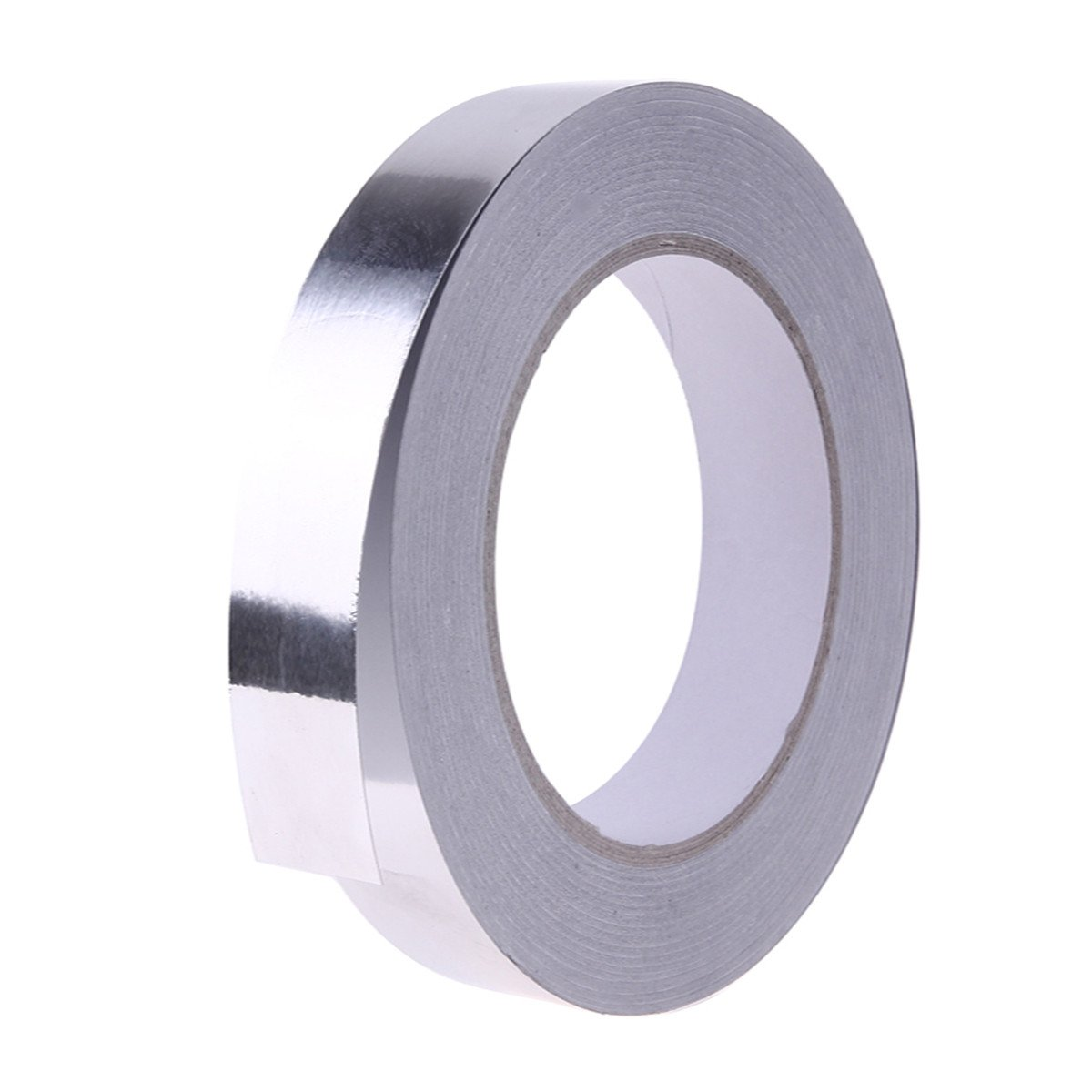 Silver Aluminium Foil Adhesive Sealing Tape for HVAC Repair, Ducts, Insulation, Dryers,10mm x 30m TM E41001032