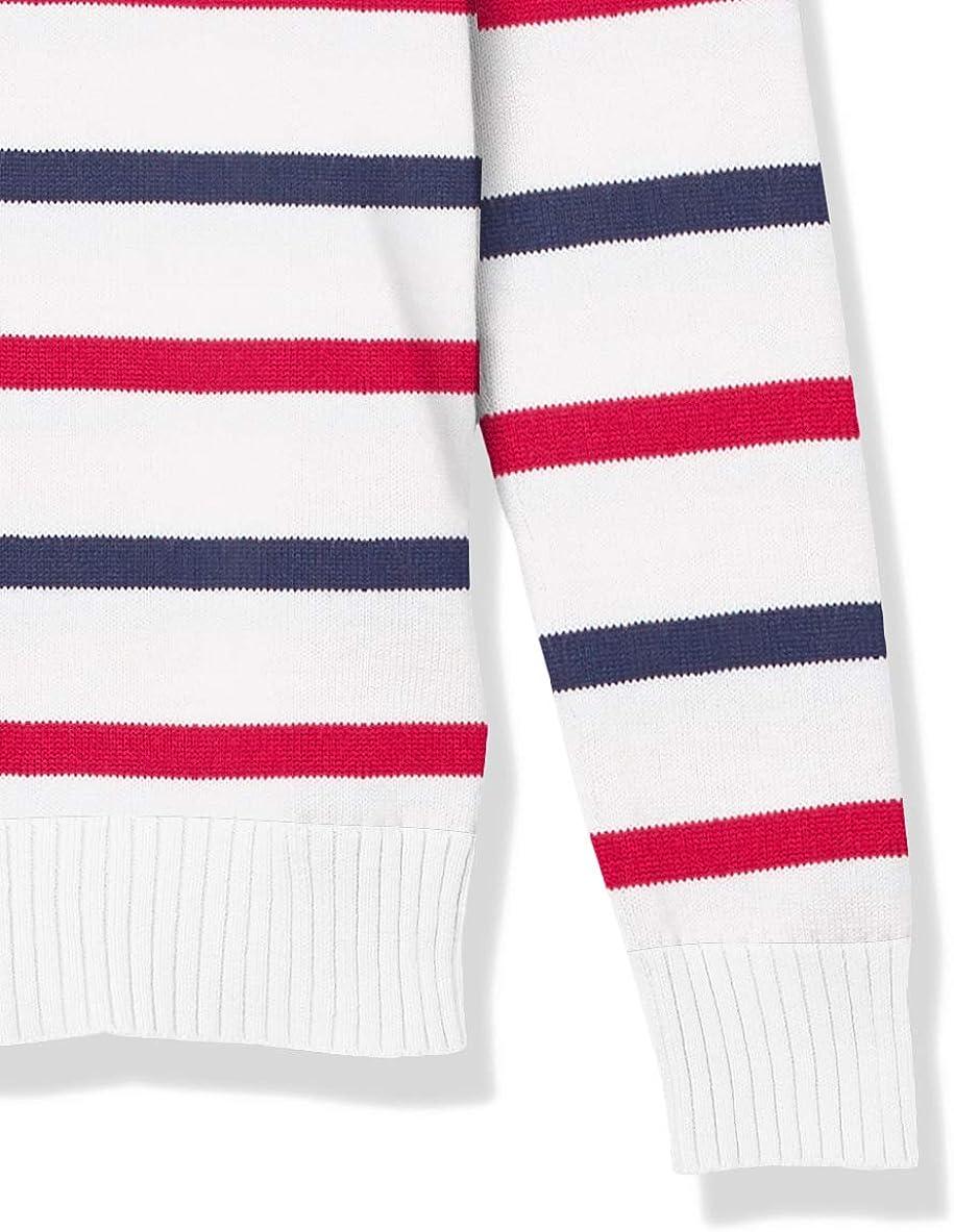 Essentials Womens Standard 100/% Cotton Crewneck Sweater