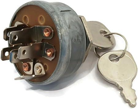 Amazon.com: Interruptor de encendido y llaves para Toro 27 ...