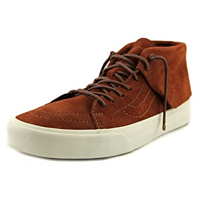 2a5f8a1bf8 Vans Women s U Sk8 Mid Moc Ca Trainers Brown Size  5  Amazon.co.uk ...