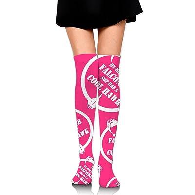DyGSAG Mom Is A Falconer Women Men Unisex Socks Over Knee High Socks Boot Warmers Tube Stockings Athletic