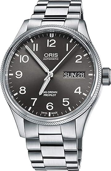 Oris Big Crown Propilot día fecha Hombres Reloj De 75276984063 MB