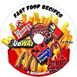 500 Fast Food Favorite Recipes on CD famous top secret cooking restaurant easy