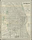 Historic Map | 1890 Rand McNally & Co.'s map of Chicago : no. 3 | Antique Vintage Reproduction