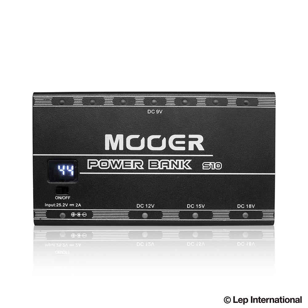 Mooer Power Bank S10 Rechargeable Power Supply 充電式パワーサプライ   B07J63Y9FP