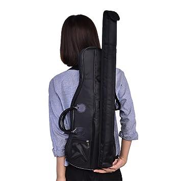 Correa Hombro Bolso violín de con Bolsa Tbest Mochila para Transporte de Estuche qxCcgw1
