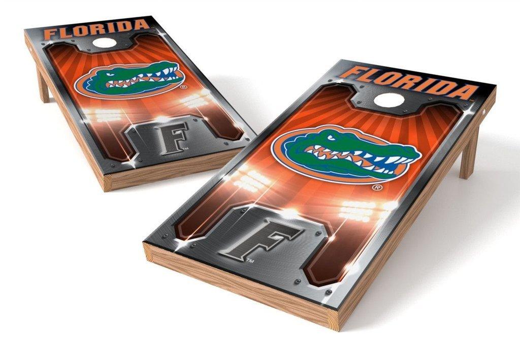 Florida Gators Cornholeボードセット – プレート B072K7C5ZN