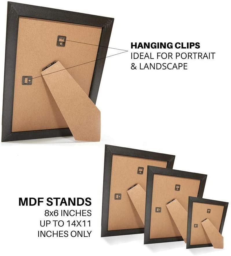 Moulding measures 19mm wide and 15mm deep - Memory Box Rainbow Colour Range Picture//Photo//Poster frame with Perspex Sheet Orange A3 29.7 x 42.0cm 16.05 x 11.75