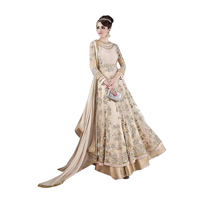 Amazon.com: Anarkali Salwar Kameez de novia bollywood traje ...