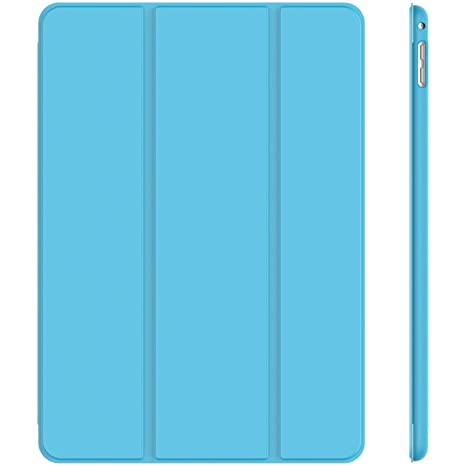 JETech 3283- Funda para iPad mini 4, Carcasa con Soporte Función, Auto-Sueño / Estela, Azul