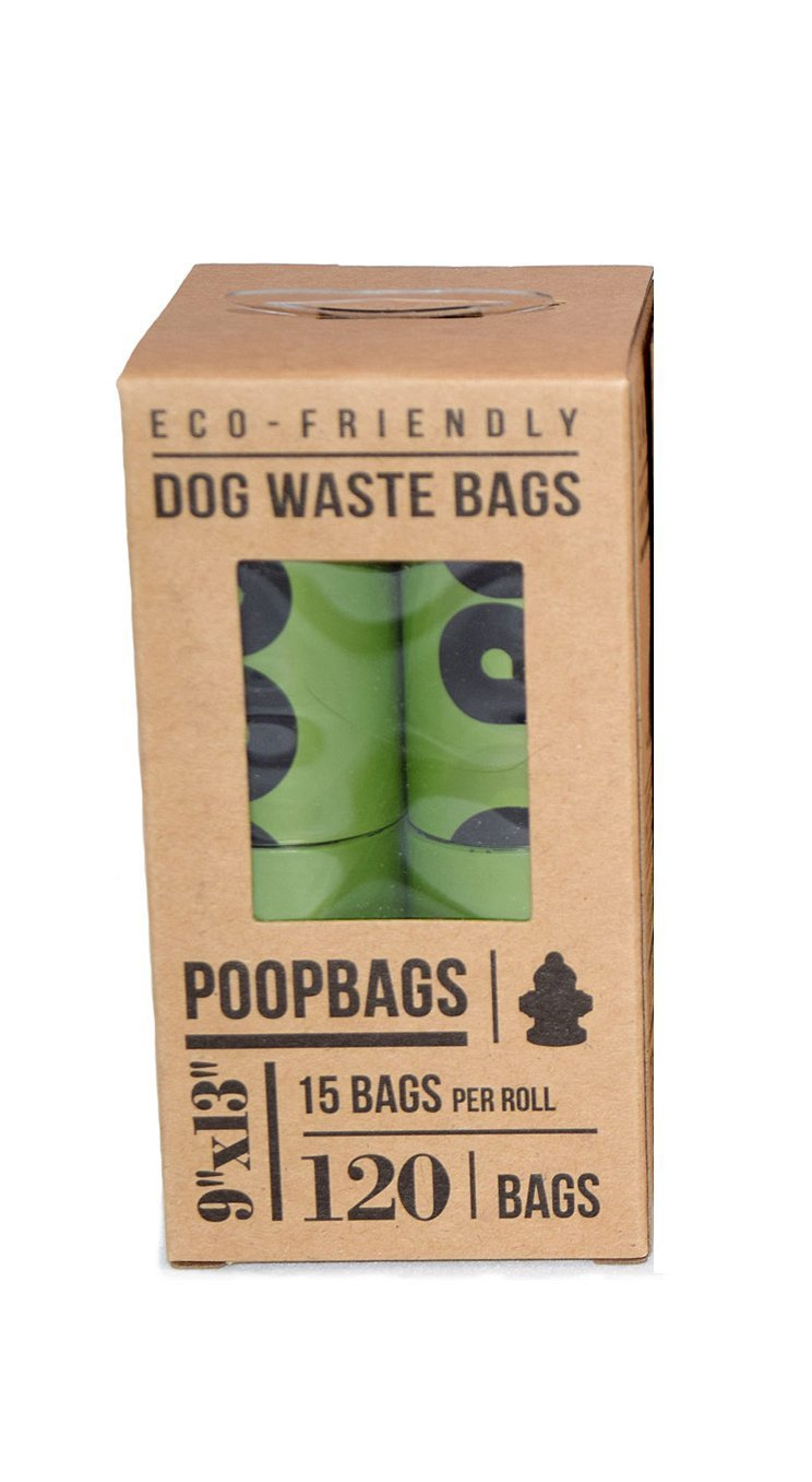 PoopBags (8EE004 Pet Business Magazine Award Winning Dog Waste Bags, 8-Rolls, 120 bags