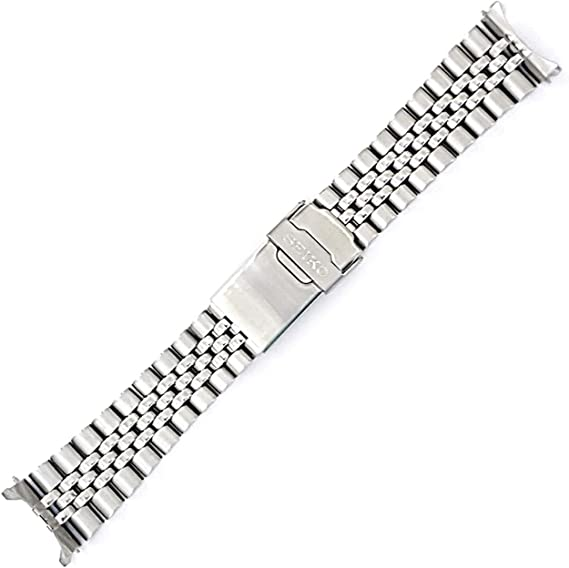 Seiko 22mm Jubilee Watch Band - Stainless Steel- for Models Diver SKX007