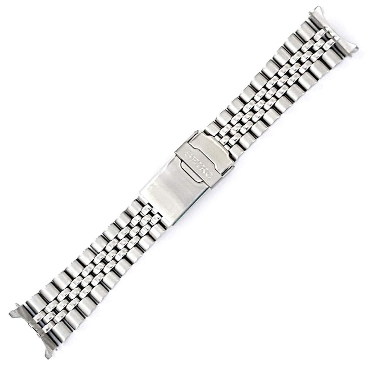 22mm Jubilee Watch Band - Stainless Steel- for Models Diver SKX007, SKX009, SKX171, SKX173, SKX175, SKX175 Cal.7S26