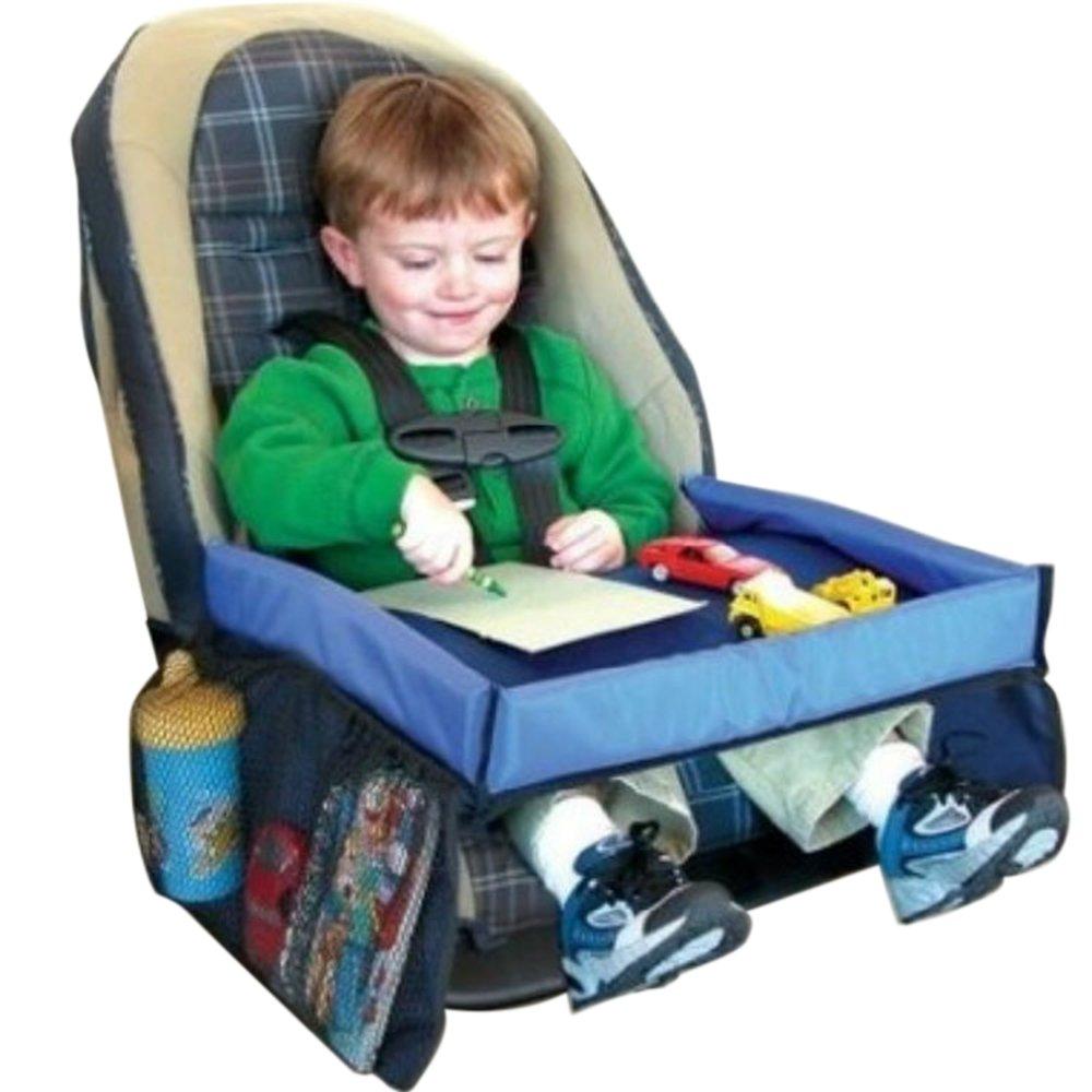KKmoon Kindersitz Autositz Tablett Aufbewahrung Snack und Spielablage Multifunktional, sicher, wasserdicht, tragbar, ideal für Kinder ideal für Kinder