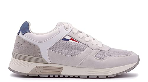 Navigare Sneakers Uomo Bianco Tela  Amazon.it  Scarpe e borse 76dca6e0eda