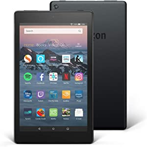 Fire HD 8 Tablet, 16 GB, Black—with Special Offers