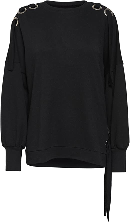 TALLA M. Only Onleisha L/S Oversize Swt Sudadera para Mujer