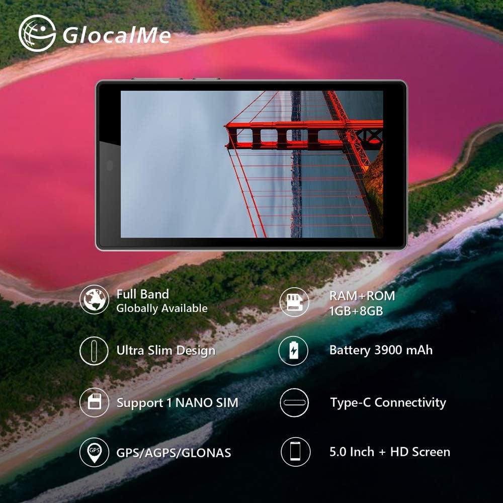 Docooler GlocalMe G4 4G WLAN-Router Wei/ß//Schwarz Ultrad/ünnes Design Unterst/ützung f/ür 5,0-Zoll-HD-Bildschirme 1 Nano Slim GPS//AGPS//GLONASS RAM ROM 3900 mAh Batterieanschluss Typ C Schwarz