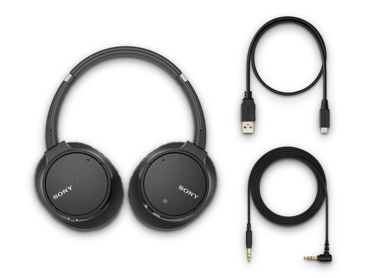 Sony CH700N Wireless Bluetooth Noise Cancelling Headphones – WH-CH700N B Renewed