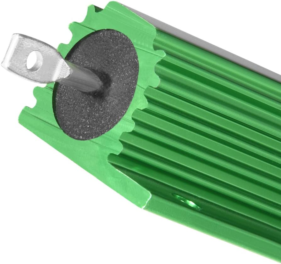 Sourcingmap Aluminium Fall Widerstand 100/W 3,3/Ohm Wirewound gr/ün f/ür LED Ersatz Konverter 100/W 3.3rj