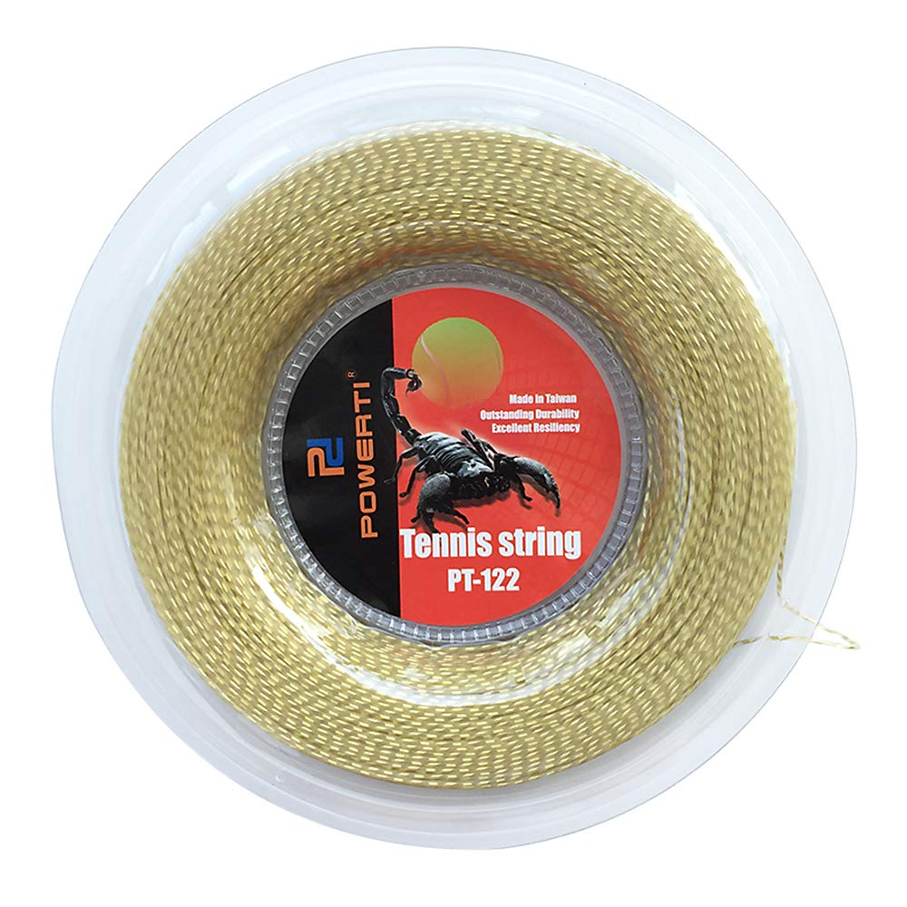 660 FT Cuerda de Nylon para Tenis Cuerda de Reemplazo de Raqueta de Tenis Resistente y Suave Cuerda de Tenis Suave Trainng Lixada 200M