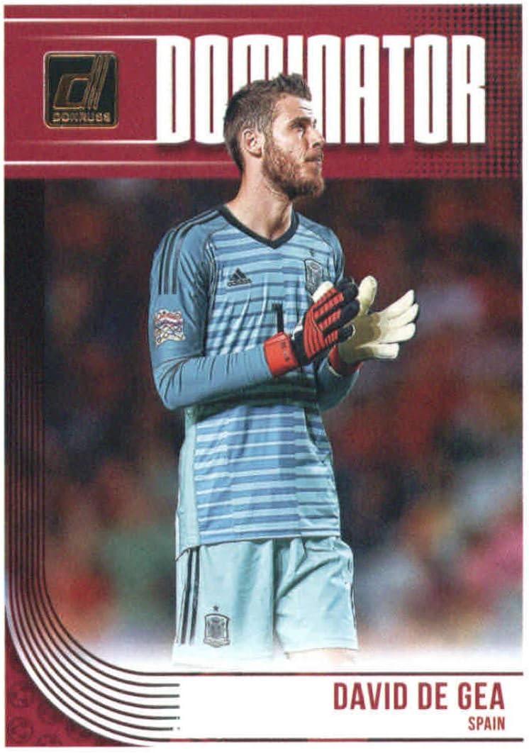 2018-19 Donruss Dominators Soccer #14 David de Gea Spain Official Panini Futbol 2018//2019 Trading Card