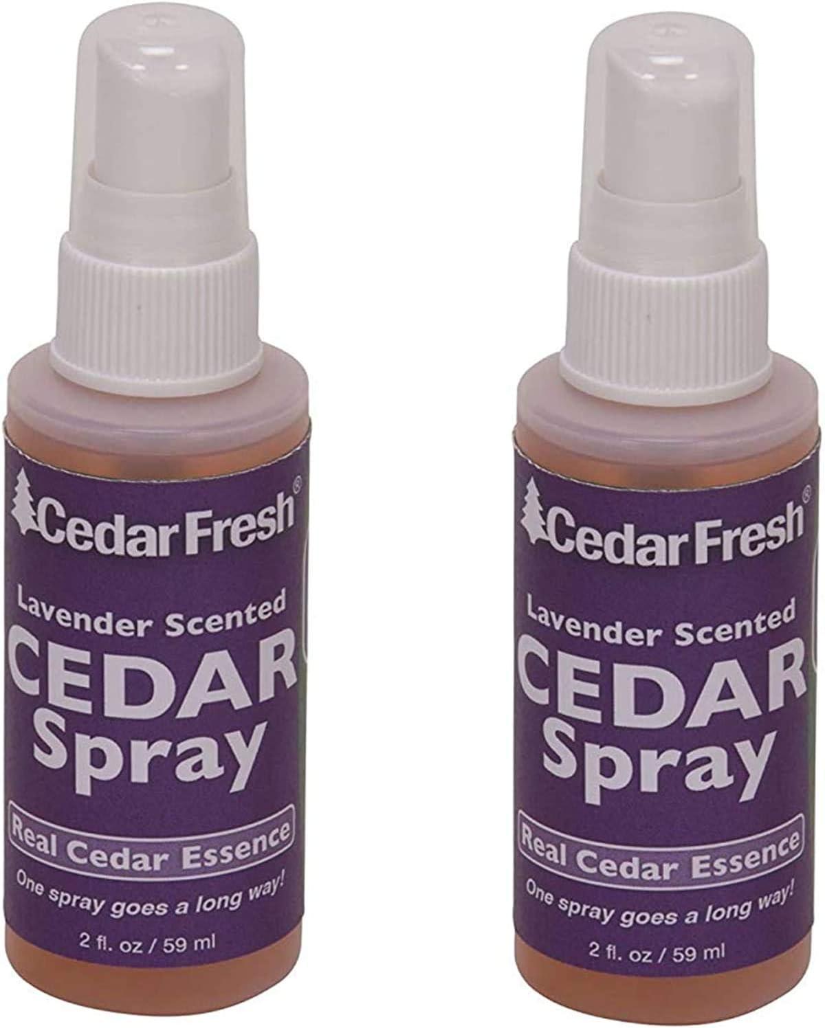 Household Essentials CedarFresh 84802 Cedar Power Spray with Lavender Essence Scent, 2 fl. oz. - 2 Pack