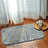 Cotton mats door mats bedroom absorbent pad in the foyer bathroom and kitchen non-slip mat 50x80cm