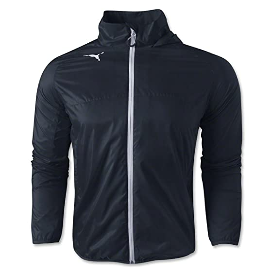 Amazon.com: Puma Men's Rain Jacket, Large, Black-White: Clothing
