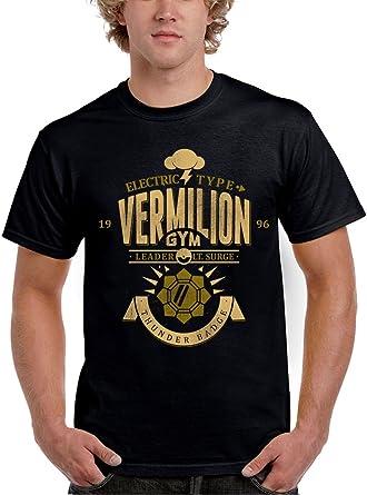 1447-Camiseta Pokemon Gym Vermilion (Azafran): Amazon.es: Ropa y accesorios