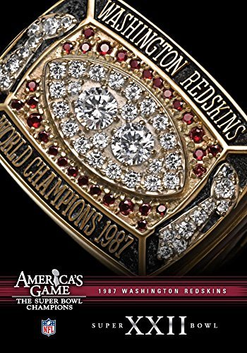 Washington Redskins Super Bowl Xxii: NFL America's [DVD] [Region 1] [US Import] [NTSC] (Dvd Washington Redskins)