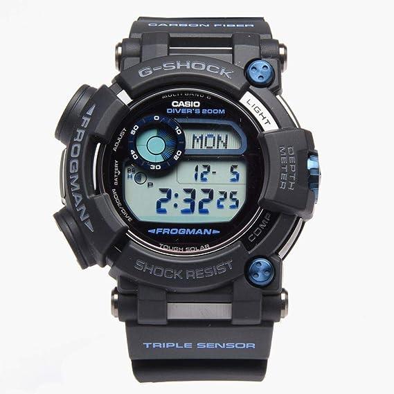 CASIO Reloj Hombre de Digital con Correa en Resina GWF-D1000B-1ER