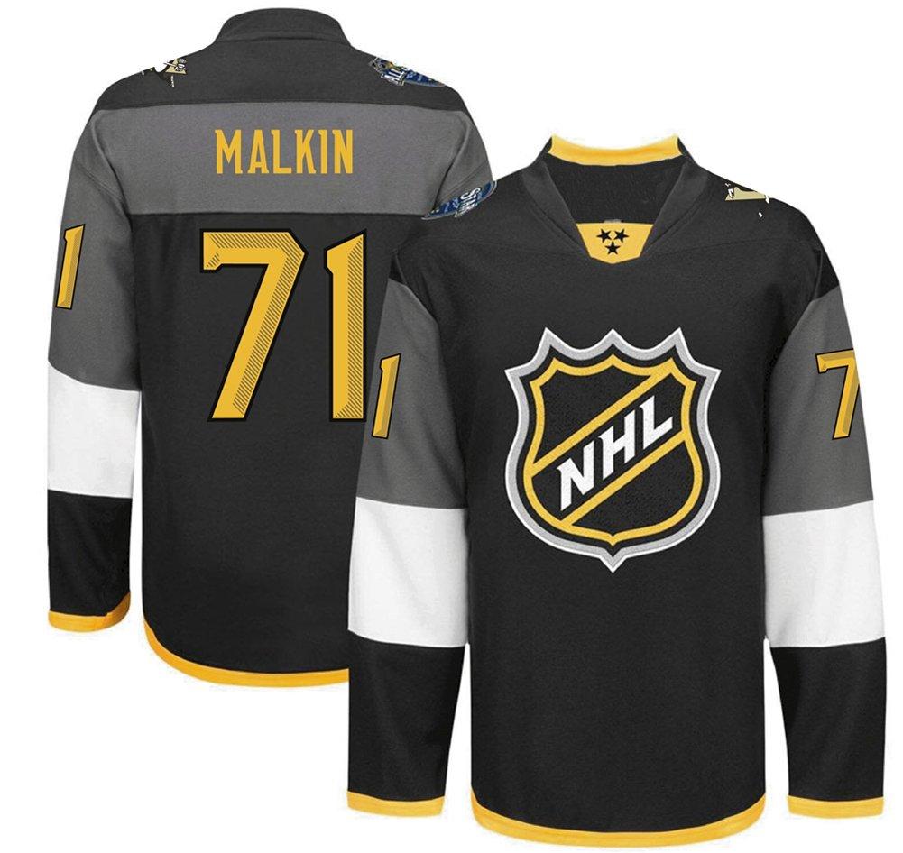 f41b6cbd0ad Pittsburgh Penguins #71 MALKIN All Star Black Premier Men's Ice Hockey  Jersey, Jerseys - Amazon Canada