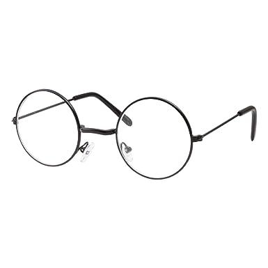 Amazon.com: Kids Size Non-Prescription Glasses Round Circle Frame ...