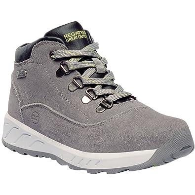 5676c2c5bb55e Regatta Unisex Kids' Grimshaw Suede Mid Junior Walking High Rise Hiking  Boots: Amazon.co.uk: Shoes & Bags