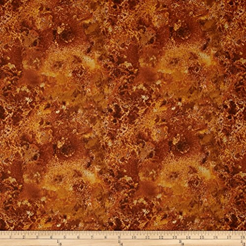108in Wide Essentials Quilt Back Cosmos Brown Fabric By The Yard
