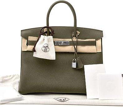 d6f83b467367 Hermes Birkin Bag 35 Togo Canopee Green Women s Luxury Handbag ...