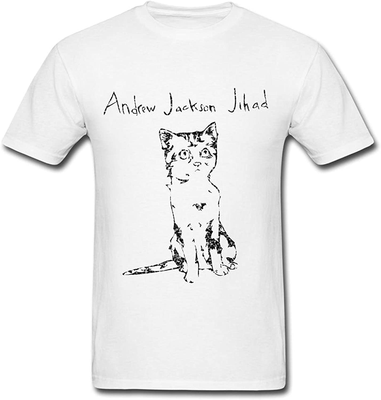 Amazon Com Banosin Men S White Ajj 2016 Short Sleeve T Shirt Clothing