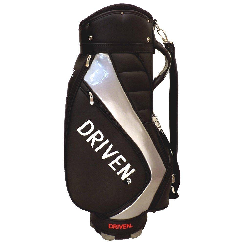 新しいDriven Proゴルフデラックススタッフ/カートバッグ6 - Way Topブラック/シルバー B073W16N4W