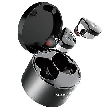 Wonstart Mini Auriculares Bluetooth V4.2 Inalámbrico de running, auricular bluetooth boton sin cable, bluetooth earbuds, ...