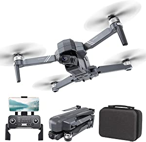 YKRC F11 4K PRO Drone Quadcopter UAV UHD 2-Axis Camera Live Video for Adults GPS 30min Flight Time,Return Home,5G WiFi Transmission,FPV Drone Camera,Long Control Range,Brushless Motor, Auto Hover