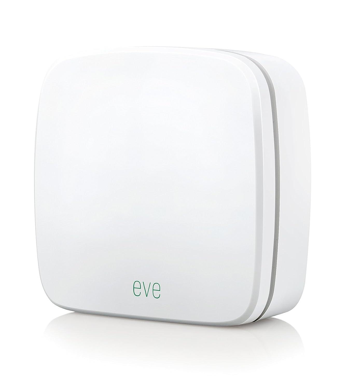 Elgato Eve Weather - Sensor inalámbrico de exterior con la tecnología Apple HomeKit, Bluetooth Low Energy, color blanco: Amazon.es: Bricolaje y herramientas