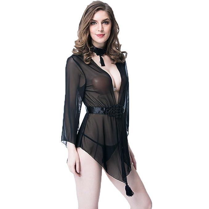 176d63a981c Topfly reg  Sexy Lingerie for Women for Sex Vintage Robes Sleepwear  Chemises Kimono G-String