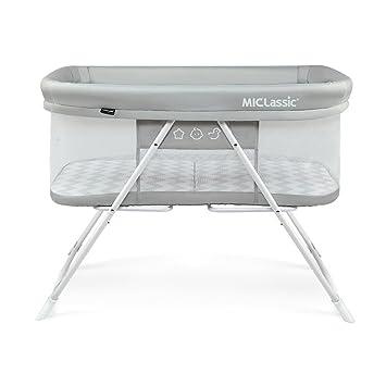 Amazon.com: MiClassic 2 en 1 - Cuna de viaje plegable de un ...