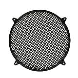 Goldwood Subwoofer Grille and Hardware 12'' Steel Waffle Speaker Woofer Grill Black (SWG-12C)