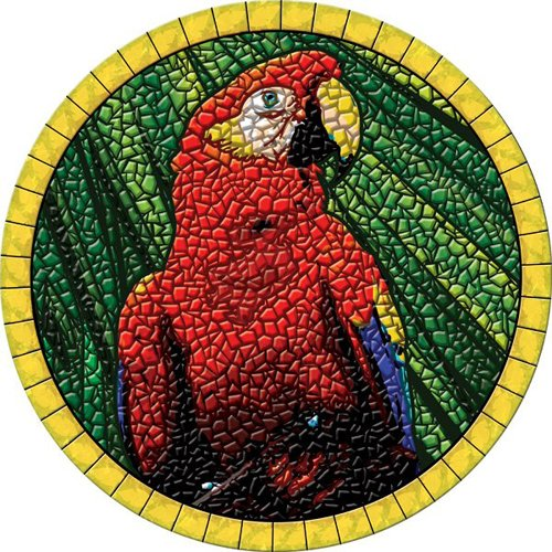 Review Parrot Head Pool Mosaic
