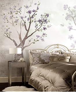 Duvarkapla 3d Fotoğraf Pembe çiçek 3 Boyutlu Duvar Kağıdı Tuğla